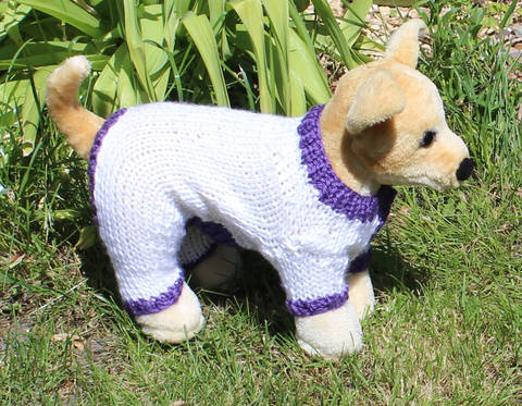 Dog Simple Chunky Onesie