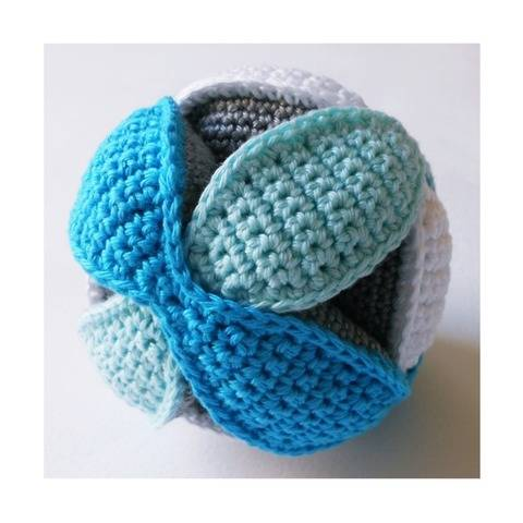 Balle puzzle au crochet - tutoriel crochet PDF
