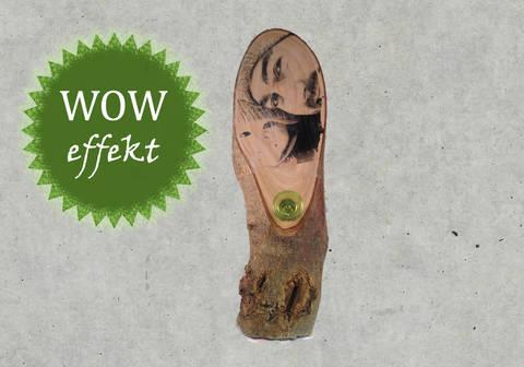 woodART - dein Bild auf Holz - WOW Effekt