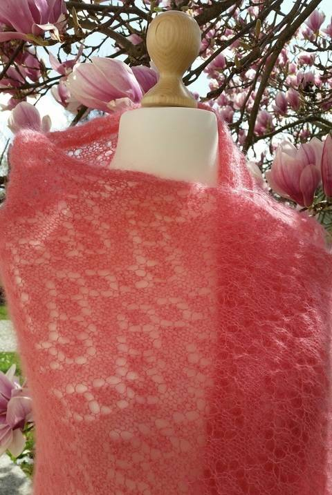 Lace Tuch Pink Magnolia