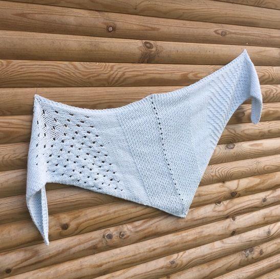 Le cloudy shawl  chez Makerist - Image 1
