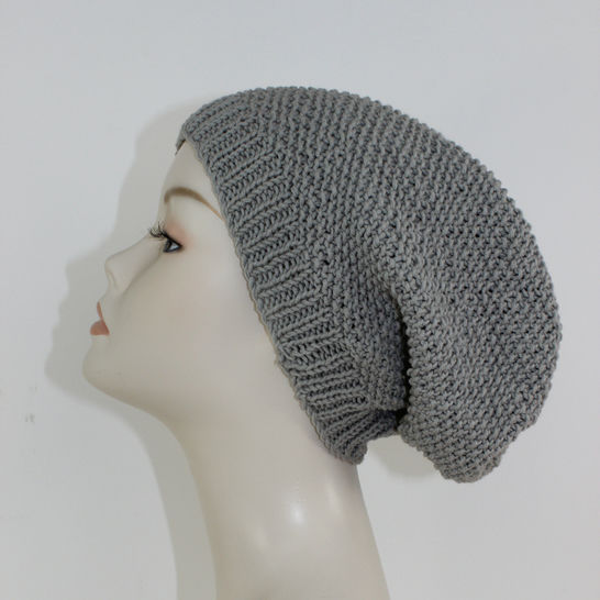 FREE Moss Stitch Slouch Hat Circular at Makerist - Image 1