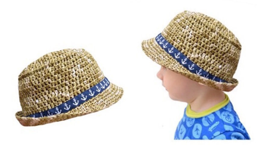 "E-Book ""Dandy Summer Hat"" sizes newborn - adult at Makerist - Image 1"