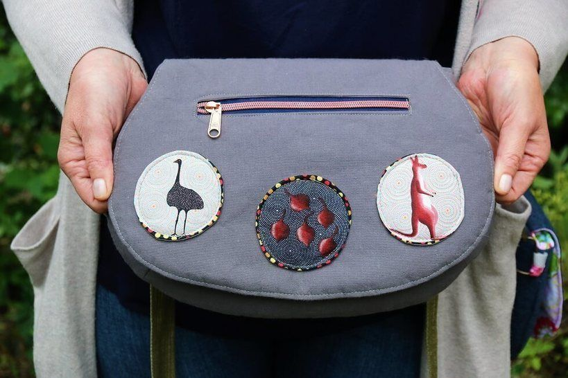 The Red Rocks Purse Sewing Pattern at Makerist - Image 1