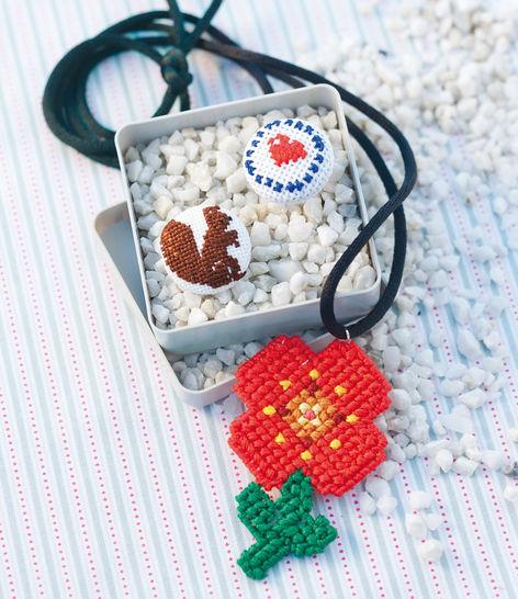 Schmuckstücke schick bestickt Stickanleitung bei Makerist - Bild 1