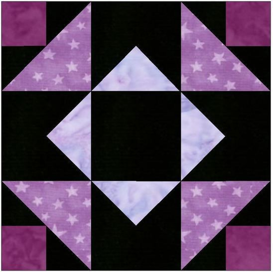 Independence Star 15 Inch Block Template Quilting Pattern at Makerist - Image 1