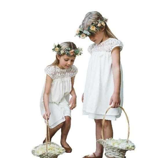 Flower Girl Dress Pattern Sizes aged 2 to 9. at Makerist - Image 1