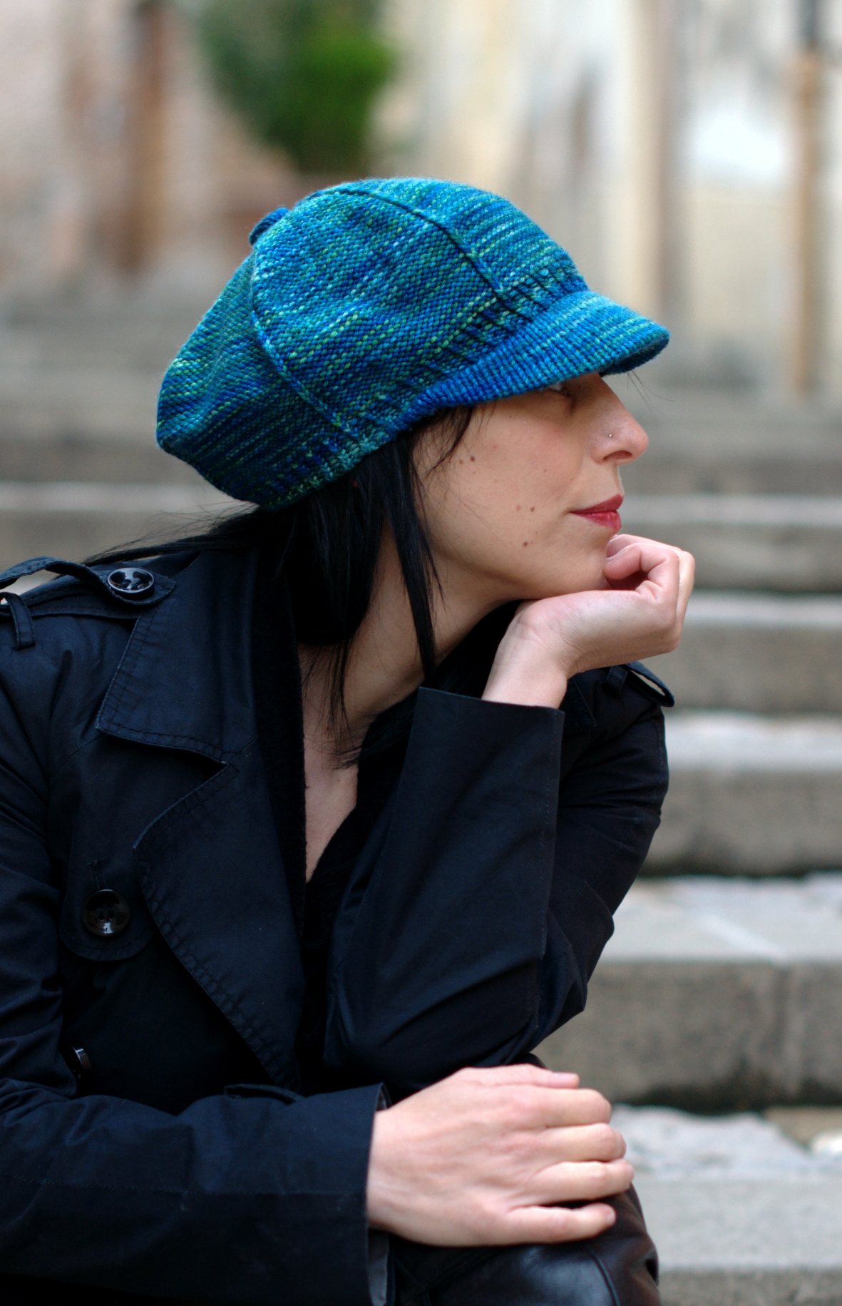 Camden cap - knitting pattern