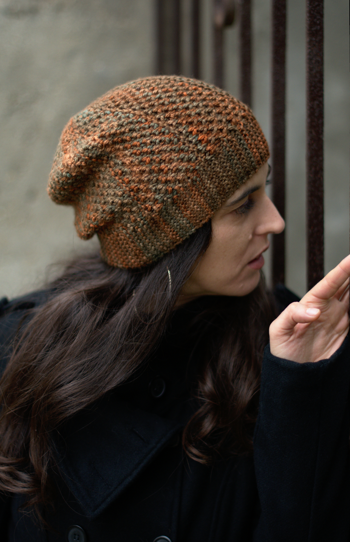 Muratura hat - knitting pattern