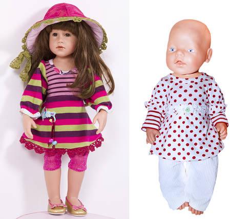 Tunika, Shrirt ULLA für Puppen, Nähanleitung und Schnittmuster bei Makerist