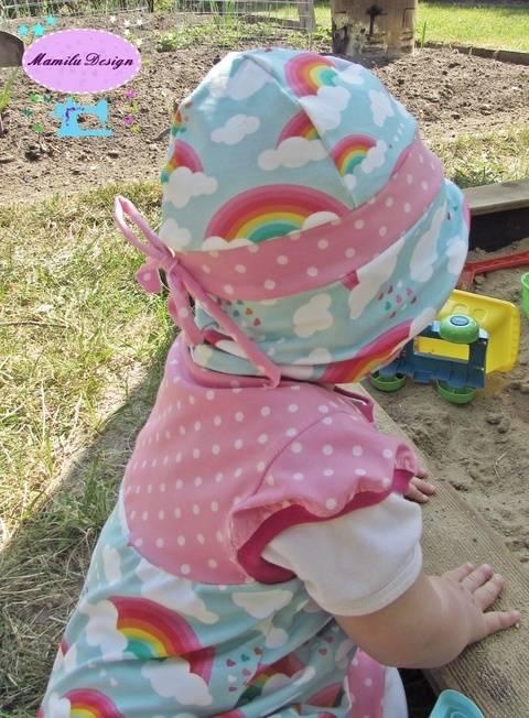 Sunny Stripes Sommerhut bei Makerist