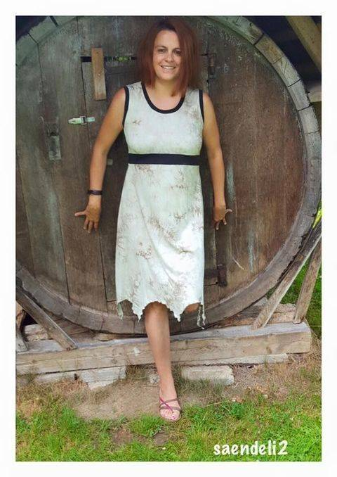 """Zipfelkleid """"Stripy Dress Lady"""" Nähanleitung und Schnittmuster bei Makerist"""