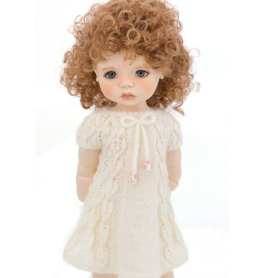 Doll summer dress, 18 inch dolls, doll clothes - knitting pattern at Makerist - Image 1