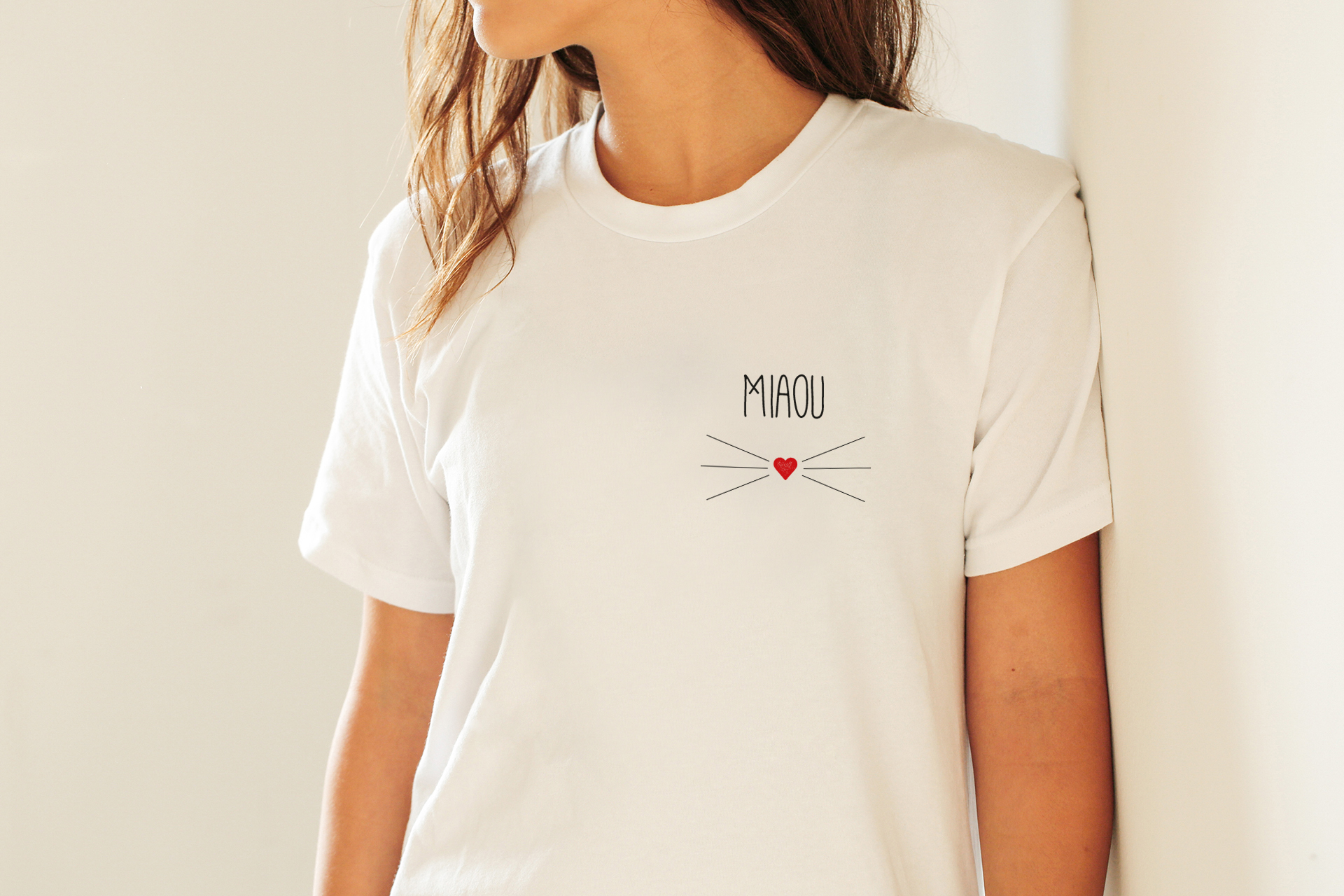 Miaou Petit chat - Fichier de découpe Plotter