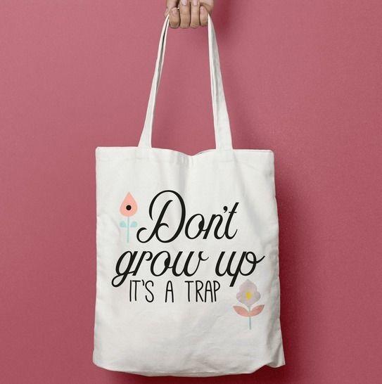 Don't Grow up - Fichier de découpe Plotter chez Makerist - Image 1