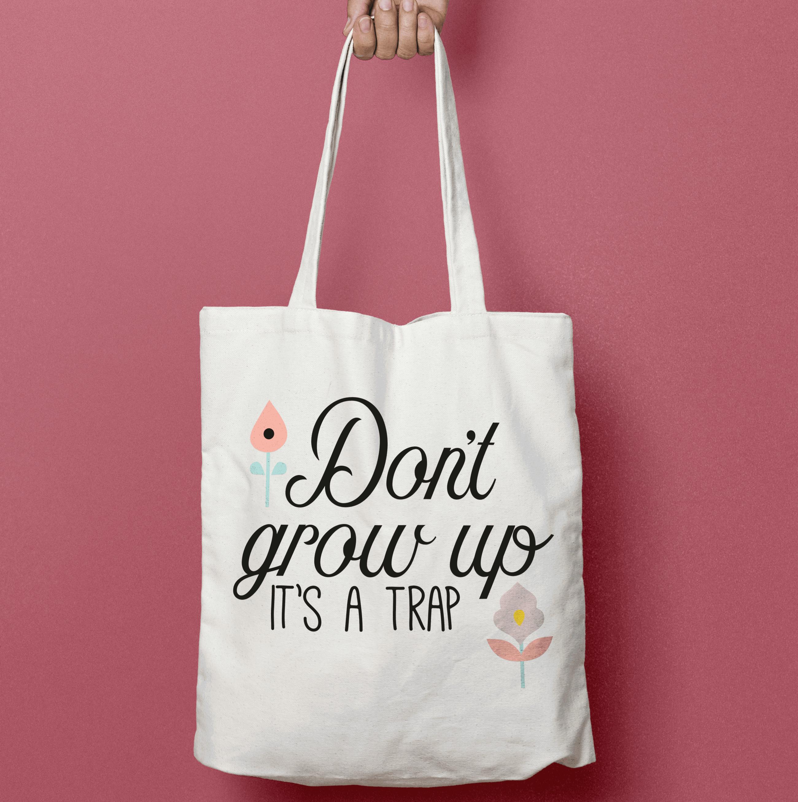 Don't Grow up - Fichier de découpe Plotter