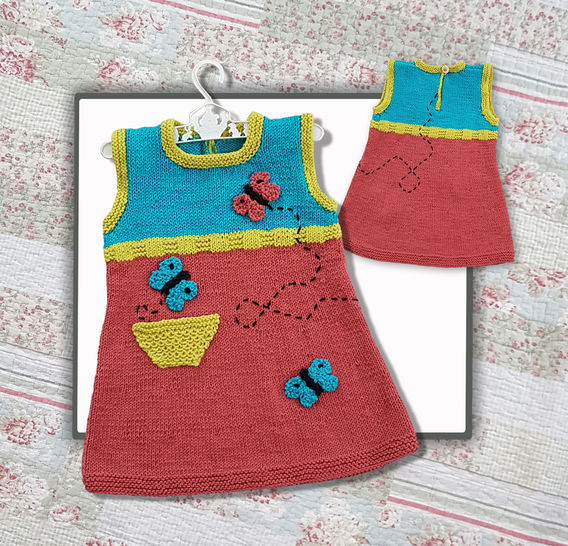 Butterfly Tunic Dress  (1-5 years) at Makerist - Image 1