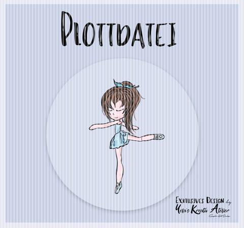 """Plotterdatei  Yela`s Kreativ Atelier """" Ballerina """""""