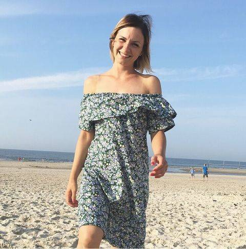 Off and Over-Shoulder Dress & Blouse / Schnittmuster Kleid bei Makerist