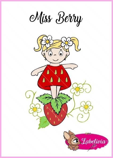 Plotterdatei Miss Berry