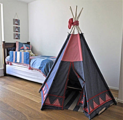 TeePee Pattern, wonderful outside or inside kids tent at Makerist