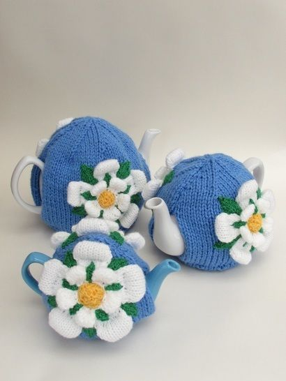 Yorkshire Rose Tea Cosy Knitting Pattern at Makerist - Image 1