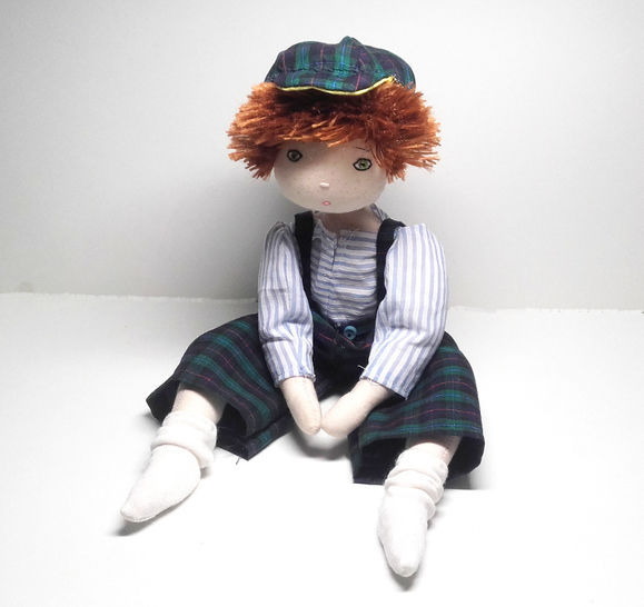 Rag doll sewing pattern - Little boy - Number 1 at Makerist - Image 1