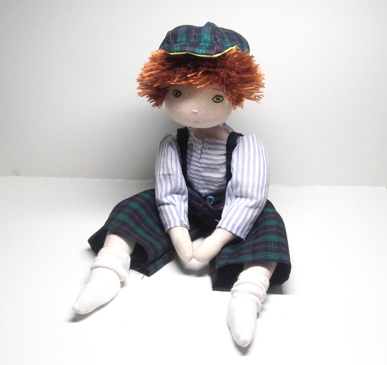 Rag doll sewing pattern - Little boy - Number 1