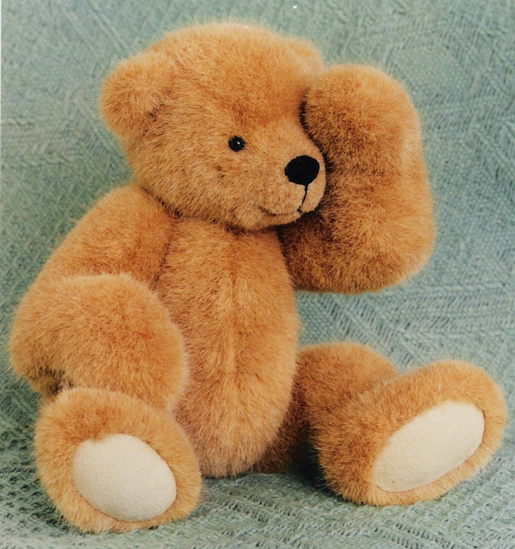 Teddy Bear Pattern and Illustrated Instructions for Benji