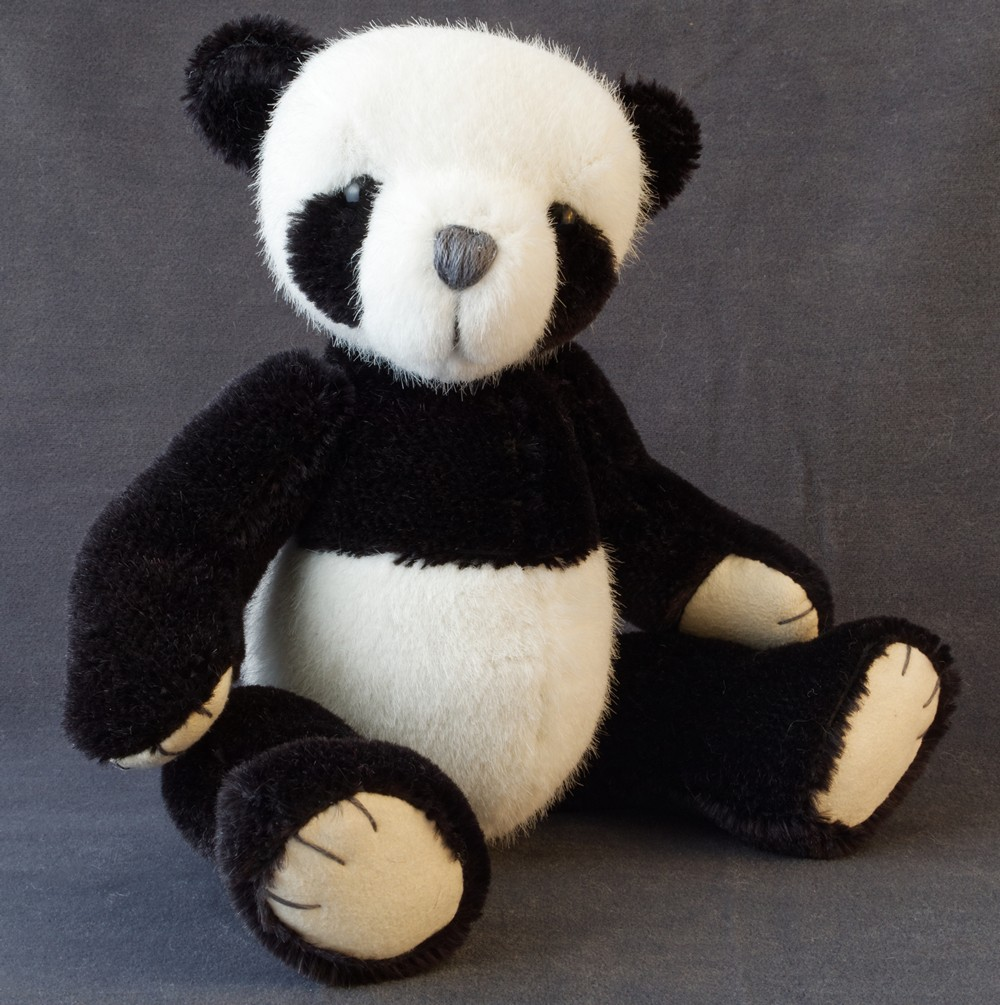 Teddy Bear Pattern and Illustrated Instructions for PJ