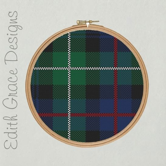 McKenzie Tartan Embroidery Pattern at Makerist - Image 1