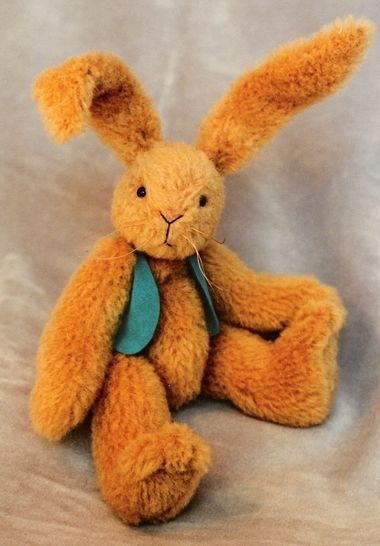 Bunny Rabbit Pattern and Instructions for Rupert at Makerist - Image 1