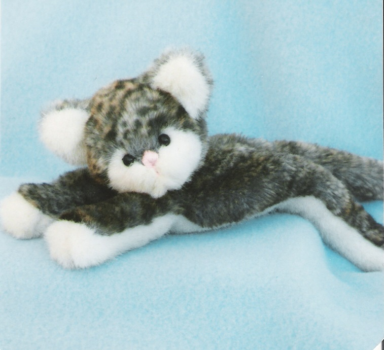Cat Pattern and Instructions for Kitten Little