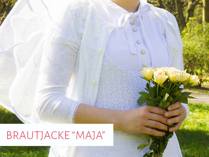 "Schnittmuster Cardigan / Brautjacke ""Maja"" bei Makerist - Bild 1"