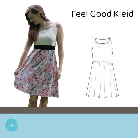 Feel good Kleid Gr. 36-48