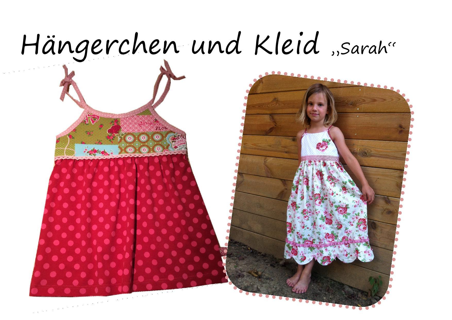 Nähanleitung und Schnittmuster Kleid Sarah
