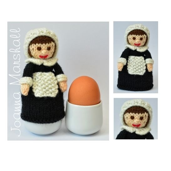 Susanna - A Pilgrim Doll Egg Cosy at Makerist - Image 1