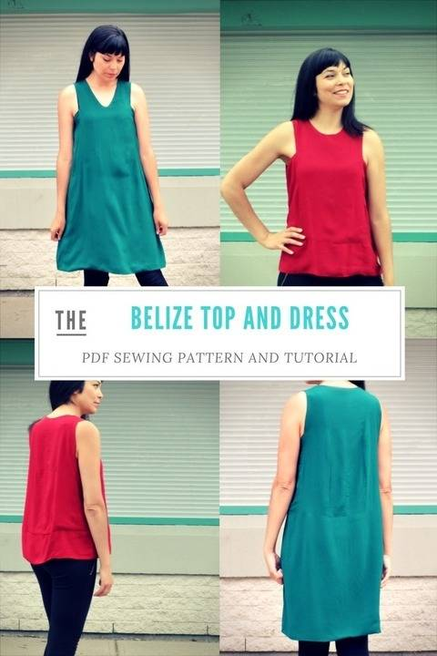 The Belize Top and Dress pattern at Makerist
