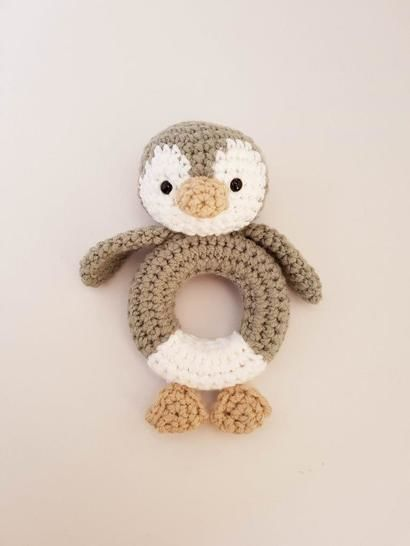 Penguin rattle / teether at Makerist - Image 1