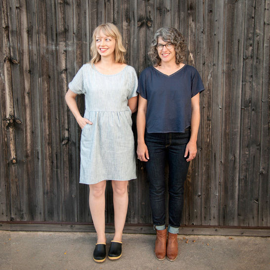 Fen - Dress and Top Sewing Pattern at Makerist - Image 1