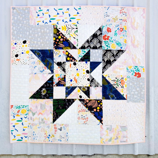 Double Star Quilt Pattern at Makerist - Image 1