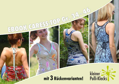 eBook • Caress-Top/Kleid • Gr. 34 - 46 bei Makerist