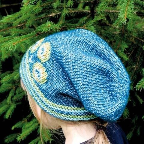 Mütze (Beanie) Pfau - Strickanleitung, einfach und warm bei Makerist