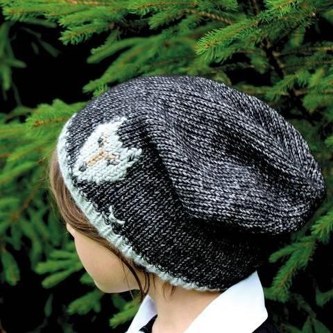 Mütze (Beanie) Wolf - Strickanleitung, einfach und warm bei Makerist