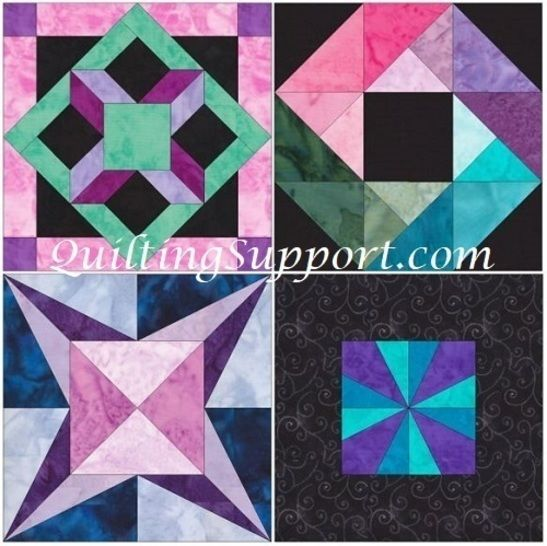 15 Inch HC Quilt Block Set 1 Template Quilting Patterns at Makerist - Image 1