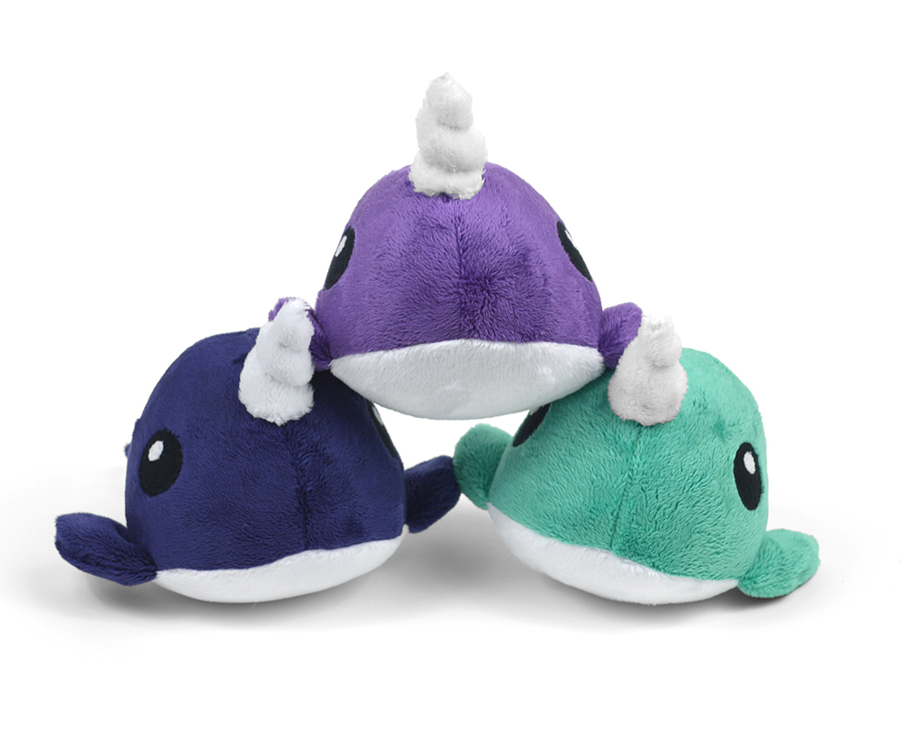 Narwhal Whale Plush Toy Sewing Pattern