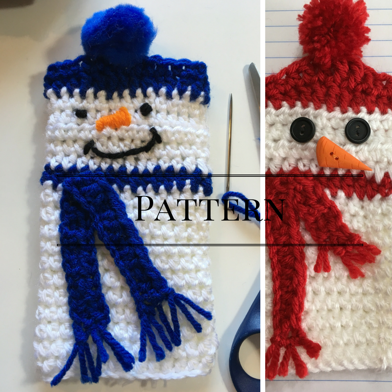 Snowman Fingerless gloves