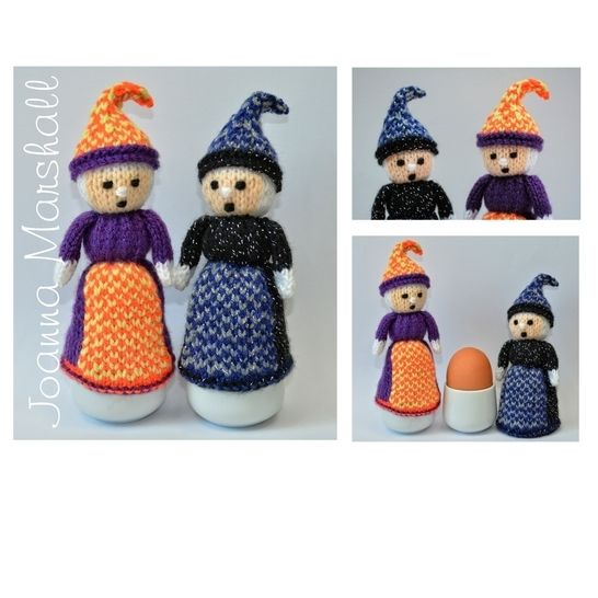 Halloween Witch Doll Egg Cosy at Makerist - Image 1