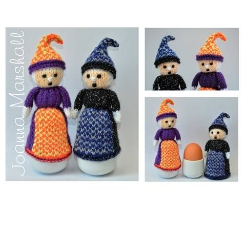 Halloween Witch Doll Egg Cosy at Makerist