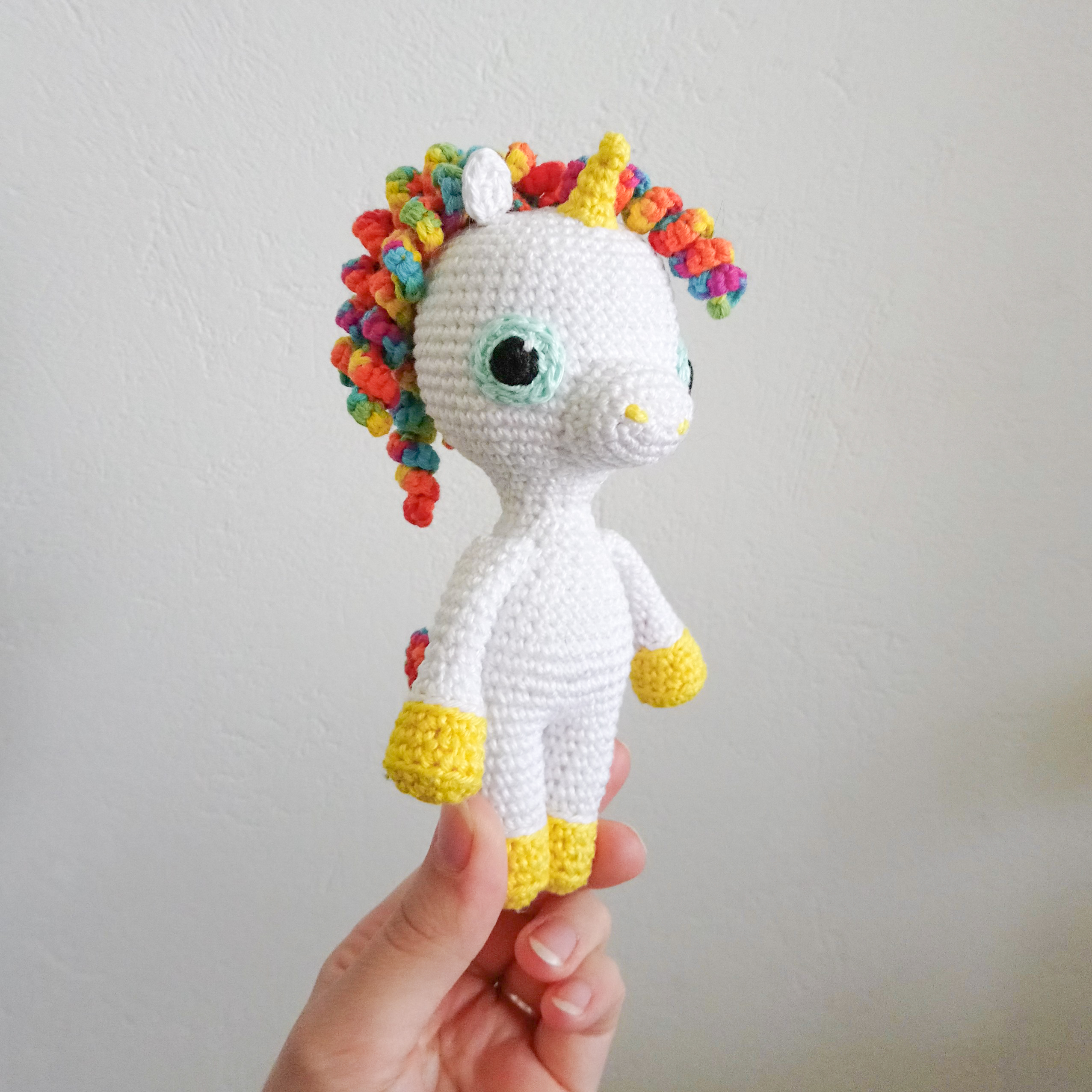 Marcia The Unicorn - Amigurumi crochet written pattern